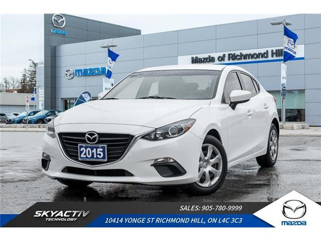 2015 Mazda Mazda3 GX (Stk: P0370) in Richmond Hill - Image 1 of 17