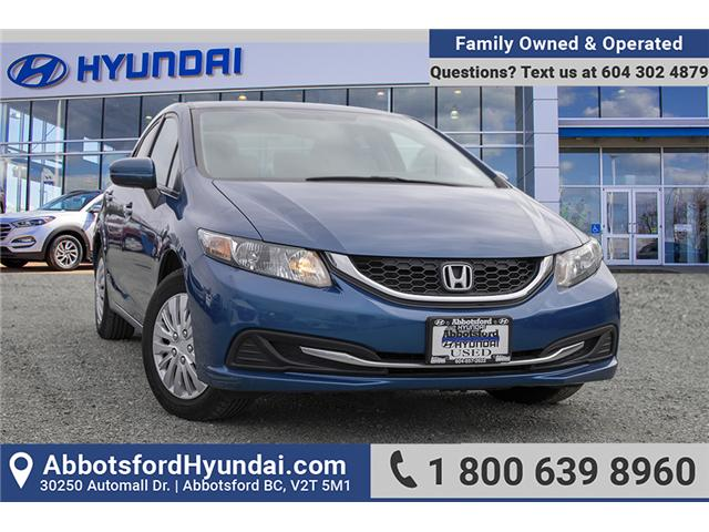 2014 Honda Civic LX (Stk: AH8807) in Abbotsford - Image 1 of 27