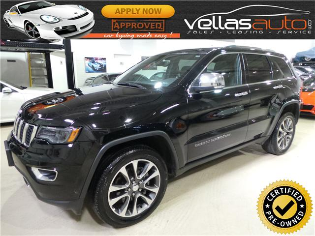 2018 Jeep Grand Cherokee Limited (Stk: NP7627) in Vaughan - Image 1 of 26