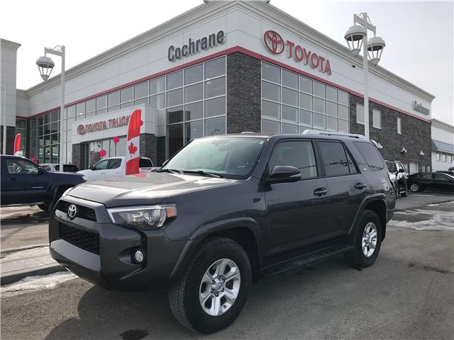 2016 Toyota 4Runner SR5 (Stk: 190157A) in Cochrane - Image 1 of 14