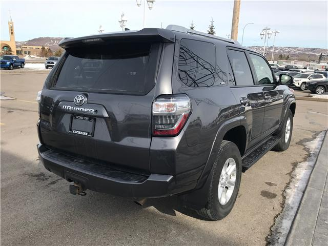 2016 Toyota 4Runner SR5 (Stk: 190157A) in Cochrane - Image 5 of 14