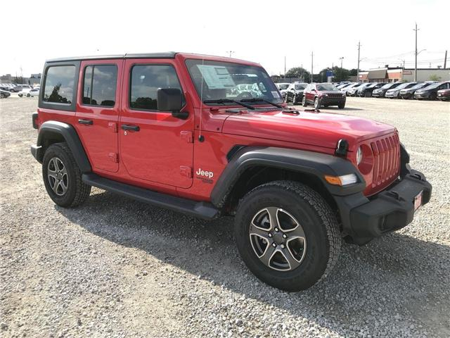 2018 Jeep Wrangler Unlimited Sport (Stk: 181227) in Windsor - Image 1 of 11