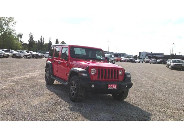 2018 Jeep Wrangler Unlimited Sport (Stk: 181227) in Windsor - Image 2 of 11