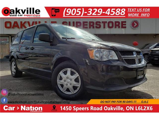 2015 Dodge Grand Caravan EASY ACCESS | EXCELLENT CONDITION | GREAT VALUE (Stk: DR472A) in Oakville - Image 1 of 19