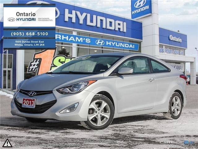 2013 Hyundai Elantra GLS / Sunroof (Stk: 01603K) in Whitby - Image 1 of 27