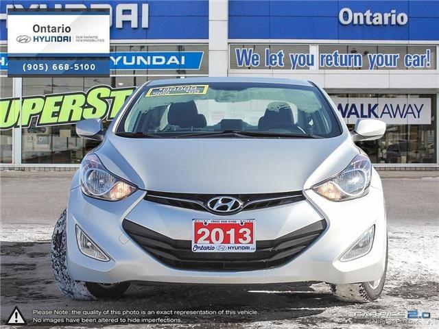 2013 Hyundai Elantra GLS / Sunroof (Stk: 01603K) in Whitby - Image 2 of 27