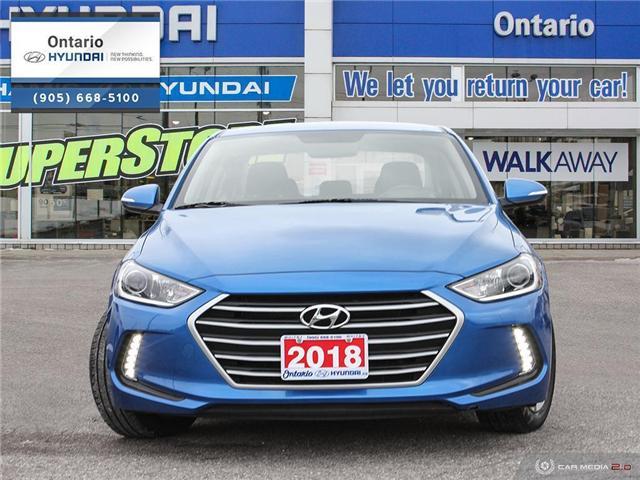 2018 Hyundai Elantra GL / REAR BACK UP CAMERA (Stk: 44891K) in Whitby - Image 2 of 27