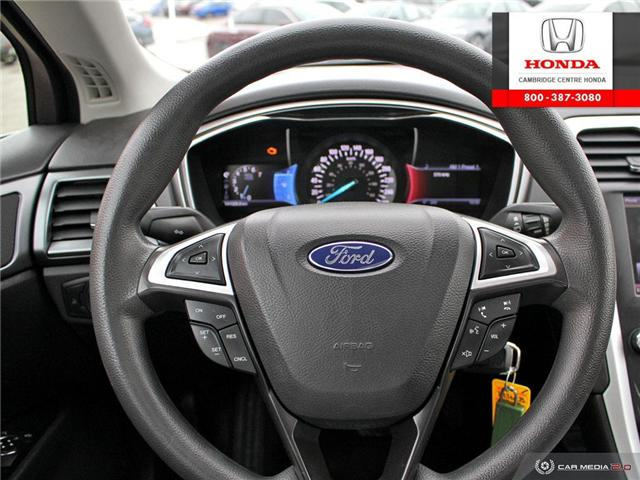 2013 Ford Fusion SE (Stk: 19362B) in Cambridge - Image 14 of 27