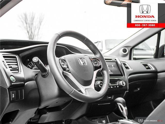 2015 Honda Civic EX (Stk: 19475A) in Cambridge - Image 13 of 27