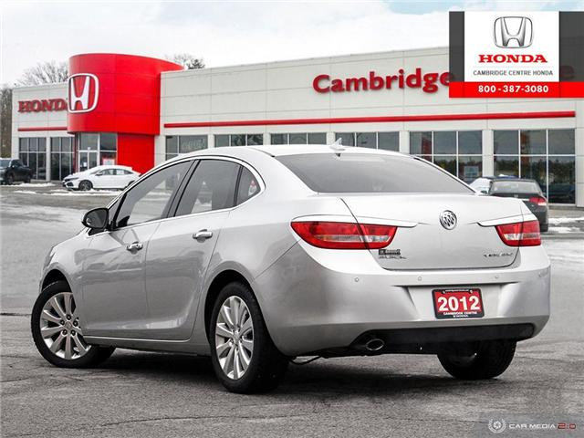 2012 Buick Verano Base (Stk: 19415A) in Cambridge - Image 4 of 27