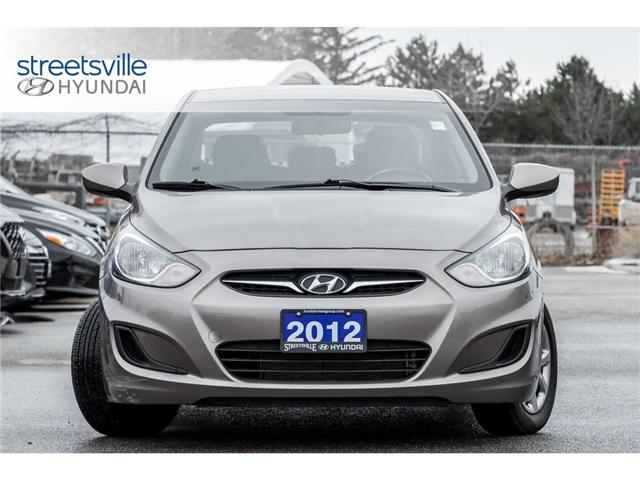 2012 Hyundai Accent  (Stk: 19SF031B) in Mississauga - Image 2 of 18