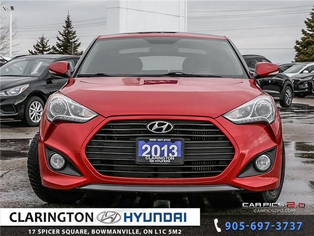2013 Hyundai Veloster Turbo (Stk: U853) in Clarington - Image 2 of 27
