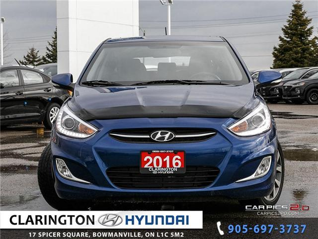 2016 Hyundai Accent SE (Stk: U845) in Clarington - Image 2 of 27