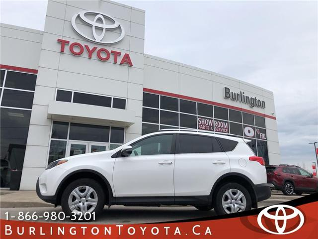 2015 Toyota RAV4 LE (Stk: U10589) in Burlington - Image 1 of 18