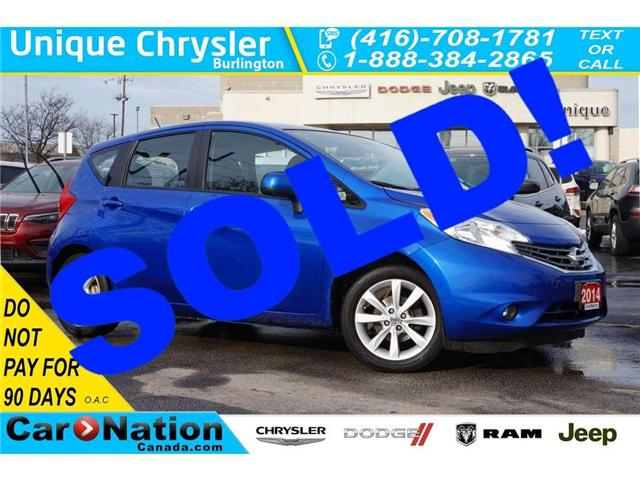 2014 Nissan Versa Note SL| TECH PKG| NAV| AROUND-VIEW CAM & MORE (Stk: J1093B) in Burlington - Image 1 of 30