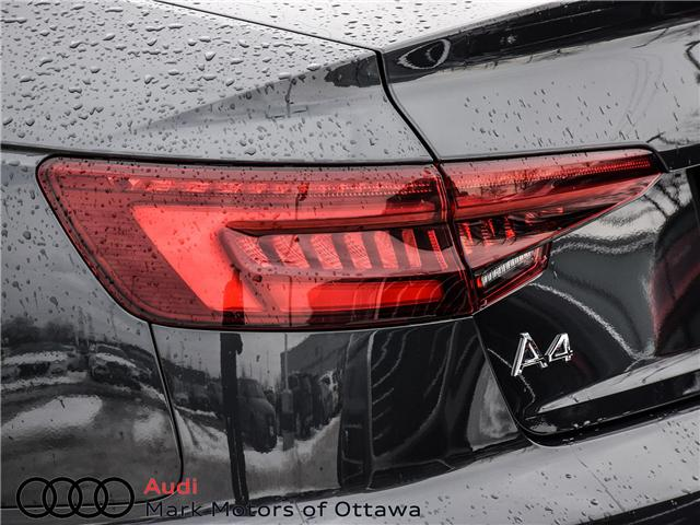 2018 Audi A4 2.0T Progressiv (Stk: 91038) in Nepean - Image 9 of 29
