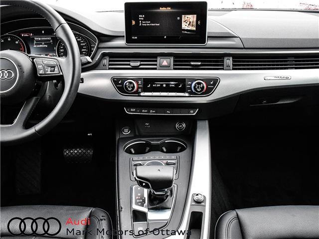 2018 Audi A4 2.0T Progressiv (Stk: 91038) in Nepean - Image 21 of 29