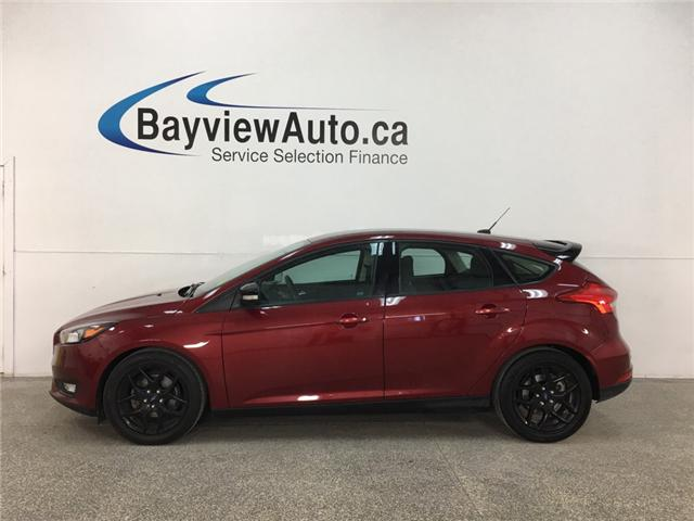 2016 Ford Focus SE (Stk: 34541R) in Belleville - Image 1 of 25