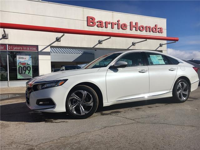 2019 Honda Accord EX-L 1.5T (Stk: 19266) in Barrie - Image 1 of 5