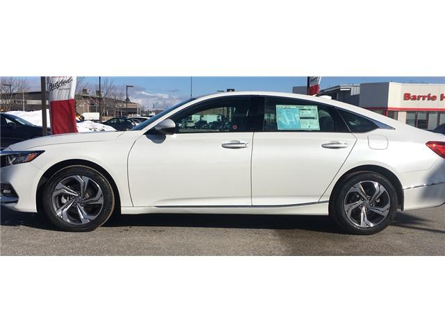 2019 Honda Accord EX-L 1.5T (Stk: 19266) in Barrie - Image 5 of 5