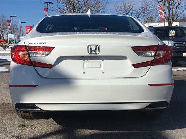 2019 Honda Accord EX-L 1.5T (Stk: 19266) in Barrie - Image 4 of 5