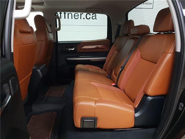 2017 Toyota Tundra Platinum 5.7L V8 (Stk: 185818) in Kitchener - Image 19 of 22