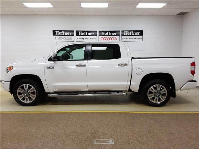 2016 Toyota Tundra Platinum 5.7L V8 (Stk: 185565) in Kitchener - Image 14 of 24