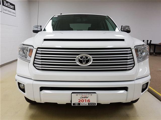 2016 Toyota Tundra Platinum 5.7L V8 (Stk: 185565) in Kitchener - Image 7 of 24