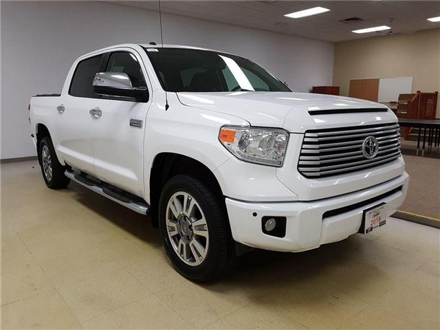 2016 Toyota Tundra Platinum 5.7L V8 (Stk: 185565) in Kitchener - Image 4 of 24