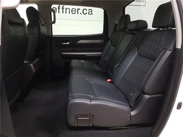 2016 Toyota Tundra Platinum 5.7L V8 (Stk: 185565) in Kitchener - Image 19 of 24