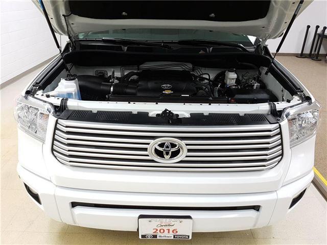 2016 Toyota Tundra Platinum 5.7L V8 (Stk: 185565) in Kitchener - Image 21 of 24