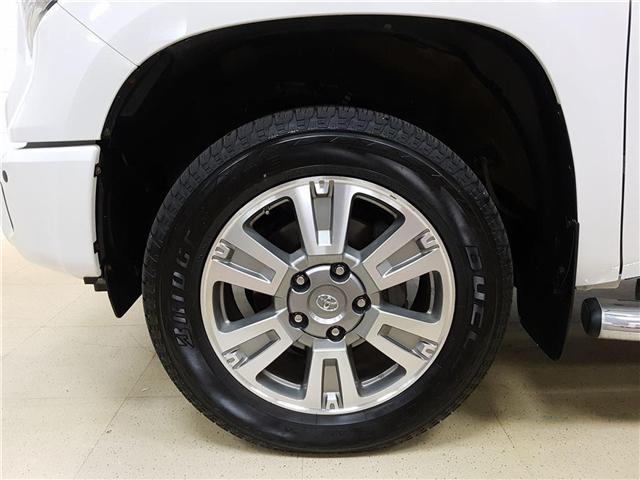 2016 Toyota Tundra Platinum 5.7L V8 (Stk: 185565) in Kitchener - Image 22 of 24