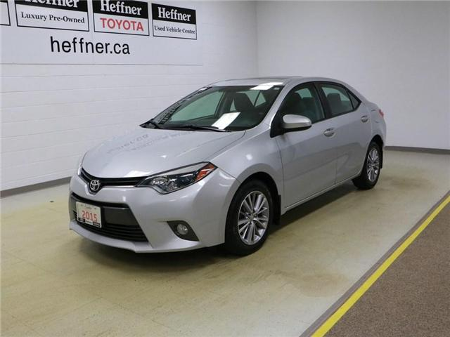 2015 Toyota Corolla LE (Stk: 186218) in Kitchener - Image 1 of 28