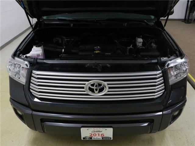 2016 Toyota Tundra Platinum 5.7L V8 (Stk: 186325) in Kitchener - Image 26 of 29