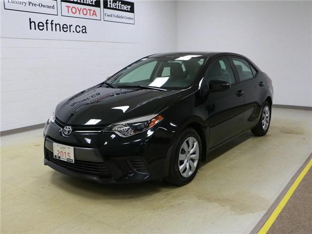 2015 Toyota Corolla LE (Stk: 186350) in Kitchener - Image 1 of 28