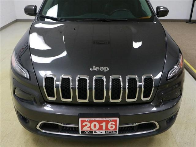 2016 Jeep Cherokee Limited (Stk: 186394) in Kitchener - Image 22 of 26