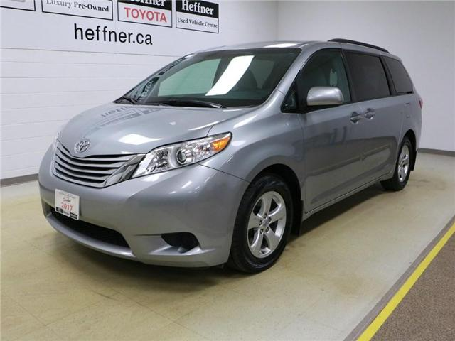 2017 Toyota Sienna LE 8 Passenger (Stk: 186455) in Kitchener - Image 1 of 29