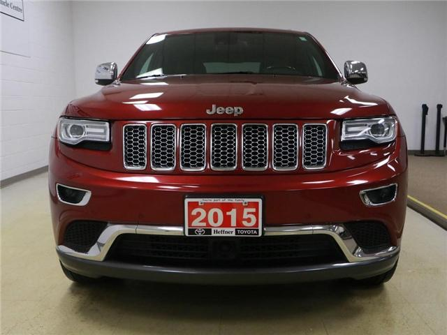 2015 Jeep Grand Cherokee Summit (Stk: 186554) in Kitchener - Image 25 of 30