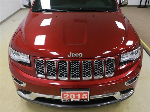 2015 Jeep Grand Cherokee Summit (Stk: 186554) in Kitchener - Image 30 of 30