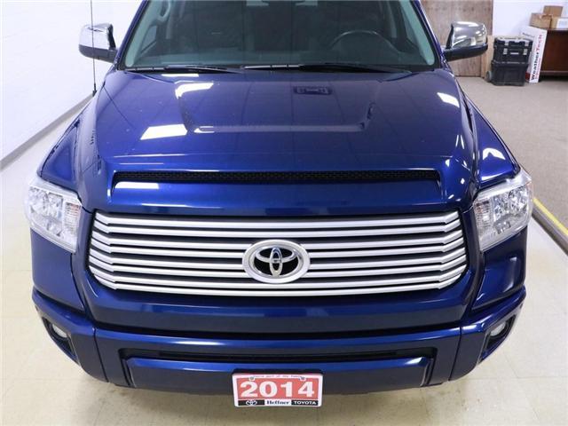 2014 Toyota Tundra Platinum 5.7L V8 (Stk: 195066) in Kitchener - Image 26 of 30