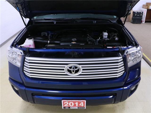 2014 Toyota Tundra Platinum 5.7L V8 (Stk: 195066) in Kitchener - Image 27 of 30