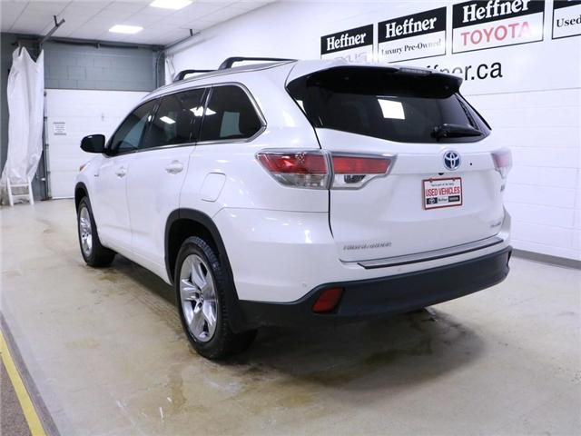 2016 Toyota Highlander Hybrid Limited (Stk: 195136) in Kitchener - Image 2 of 30