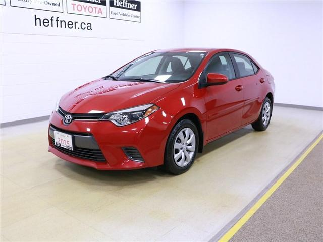 2015 Toyota Corolla LE (Stk: 195152) in Kitchener - Image 1 of 29
