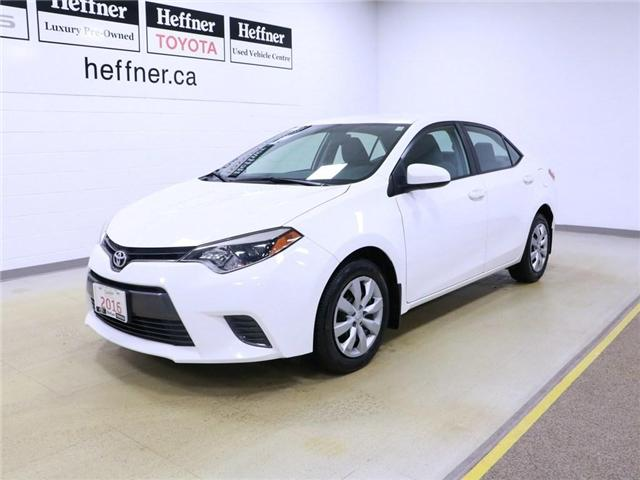 2016 Toyota Corolla LE (Stk: 195169) in Kitchener - Image 1 of 29
