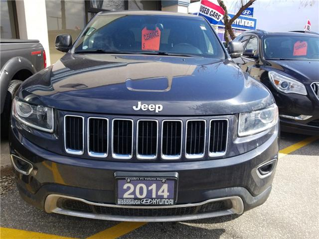 2014 Jeep Grand Cherokee Limited (Stk: OP10006A) in Mississauga - Image 2 of 8