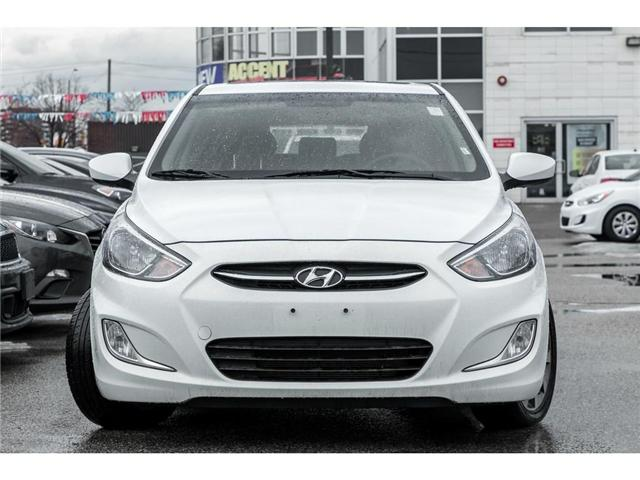 2017 Hyundai Accent  (Stk: H7802PR) in Mississauga - Image 2 of 18