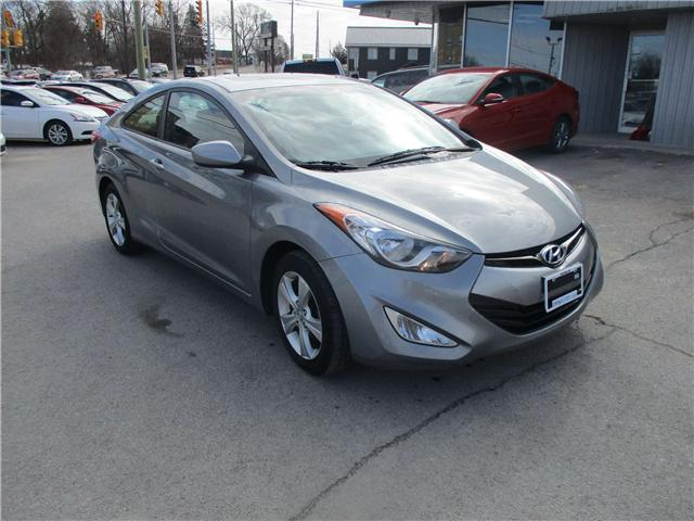 2013 Hyundai Elantra GLS (Stk: 190136) in Richmond - Image 1 of 13