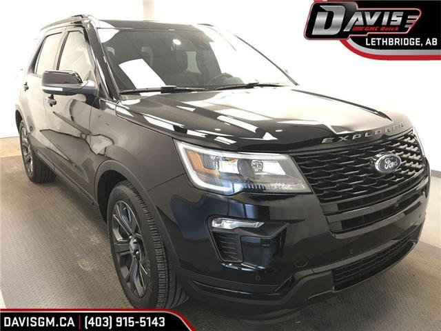 2018 Ford Explorer Sport (Stk: 199180) in Lethbridge - Image 1 of 21
