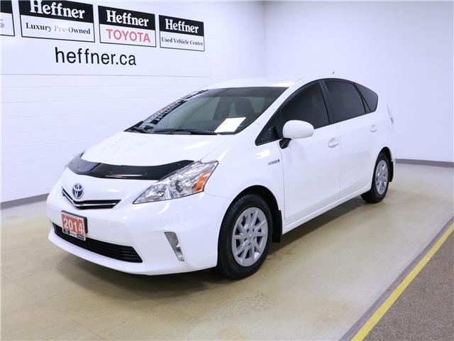 2014 Toyota Prius v Base (Stk: 195128) in Kitchener - Image 1 of 28
