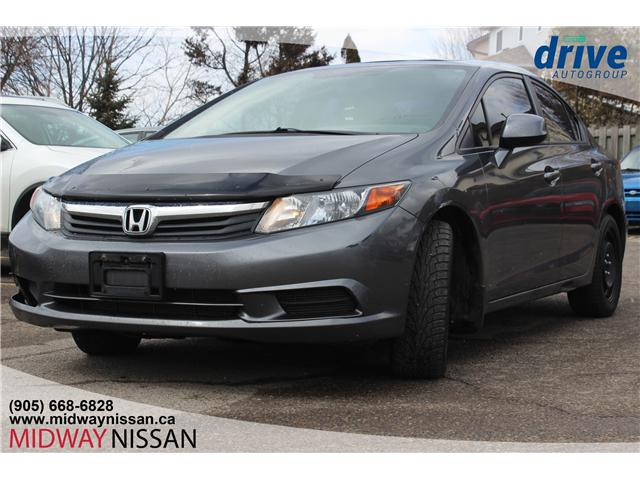 2012 Honda Civic EX (Stk: U1561A) in Whitby - Image 1 of 14
